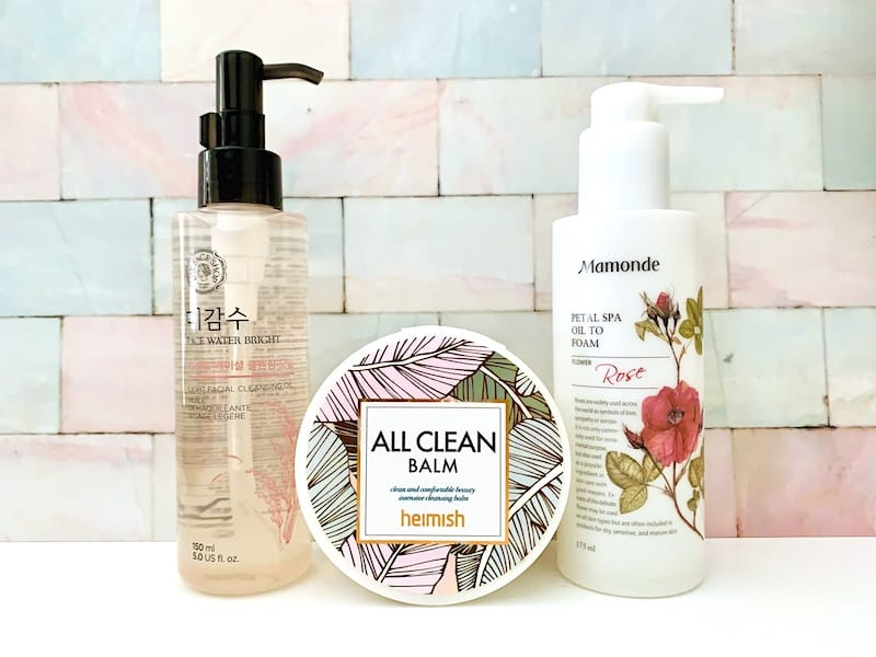 Best Korean Cleansing Balms and Oils: The Face Shop, Heimish and Mamonde