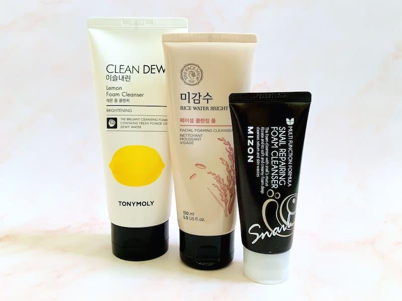 Best Korean Cleansing Foams