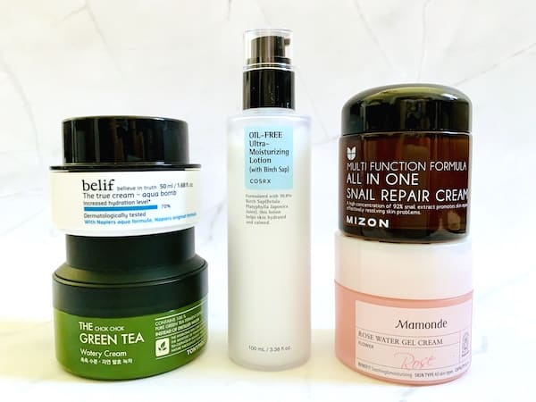 The Best Korean Moisturizers for Oily Skin from Belief, Tony Moly, COSRX, Mizon and Mamonde