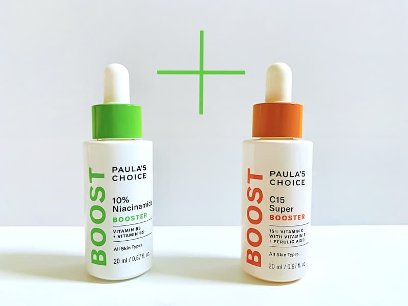 Paula's Choice C15 Super Booster and 10% Niacinamide Booster