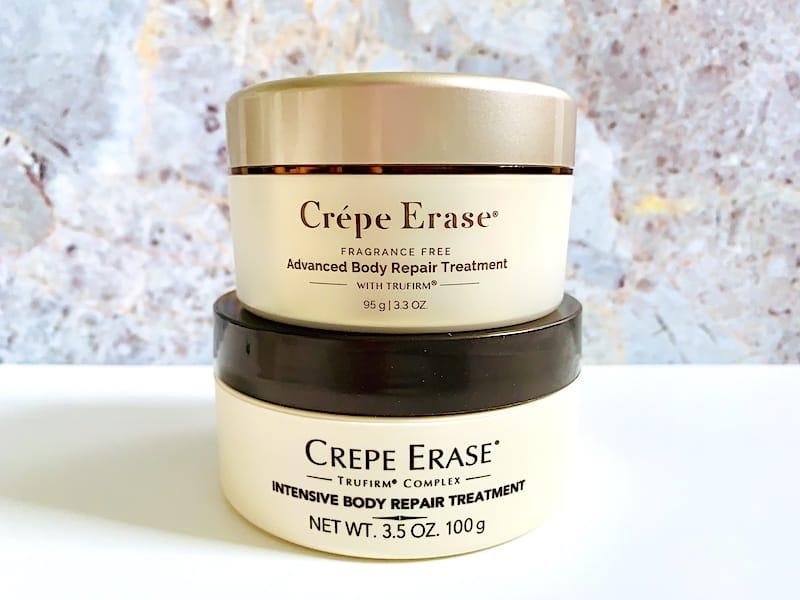Crepe Erase Advanced Body Treatment and Crepe Erase Intensive Body Treatment