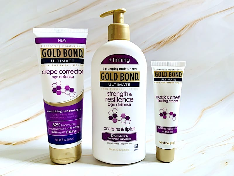 Gold Bond for Crepey Skin Review