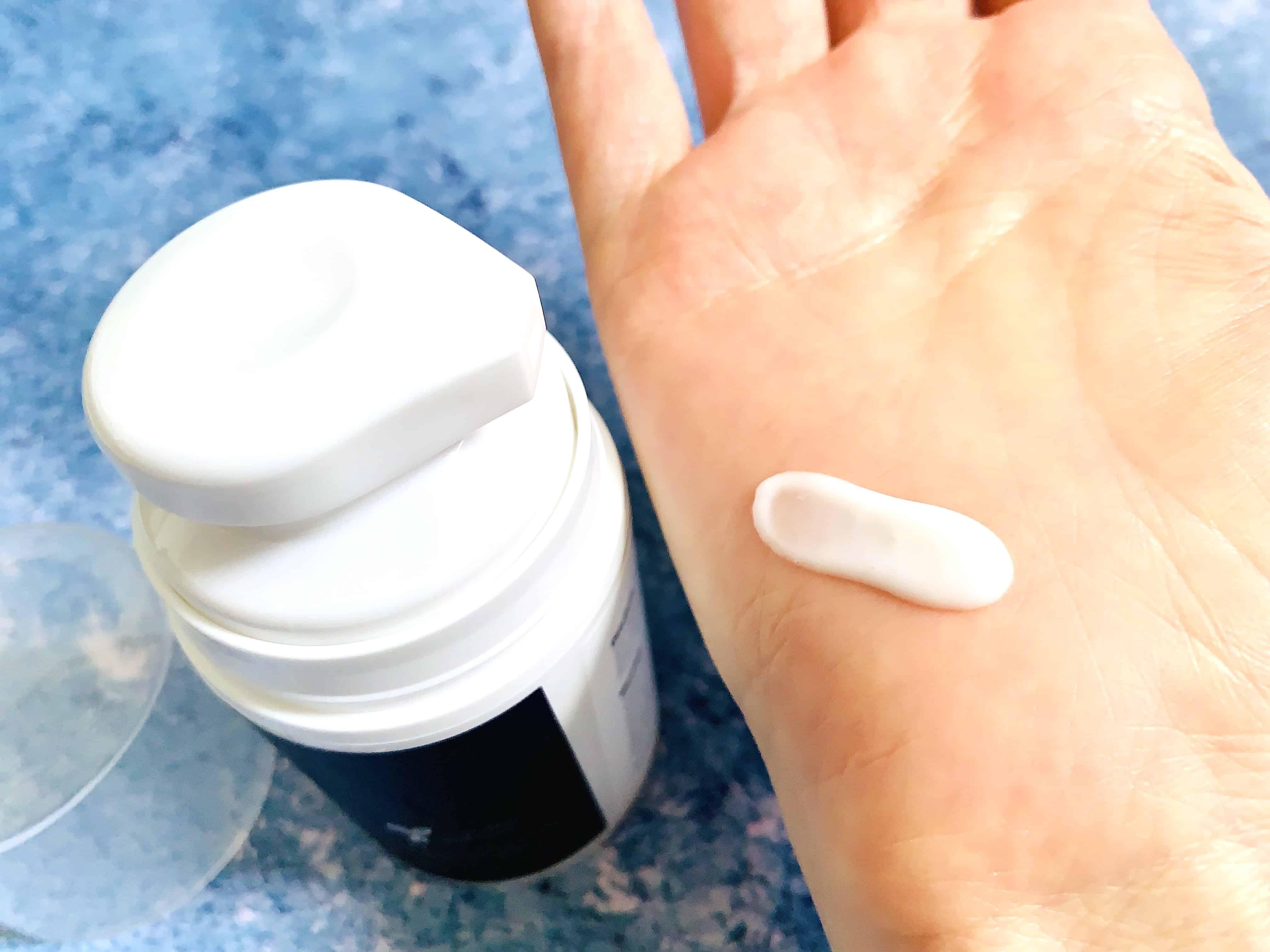 Meladerm Pigment Correction Cream Sampled on Hand